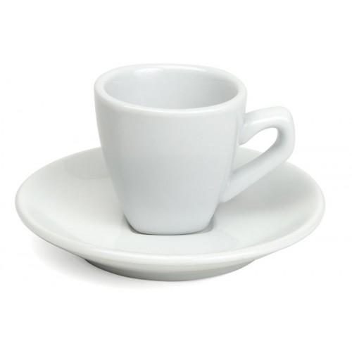 Набор Espresso Verona: чашка 70 мл и блюдце 12 см, шпатовый фарфор