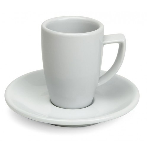 Набор Kaffe  Rimini: чашка 180 мл  и блюдце 14 см, шпатовый фарфор