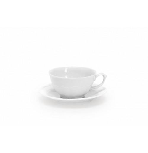 Чашка 80 мл с блюдцем 12 см  Maria Teresa, шпатовый фарфор