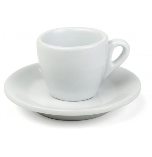 Набор Espresso Bergamo: чашка 70 мл и блюдце 12 см, шпатовый фарфор