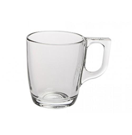 Чашка Espresso Voluto 90 мл (блюдце 52924) , калёное стекло