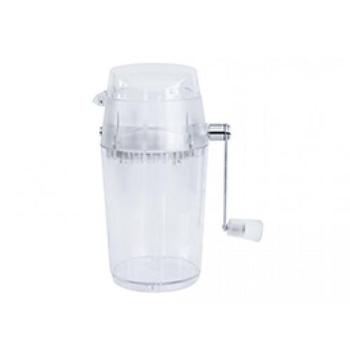 Мельница для дробления/измельчения/колки льда механическая, пластиковый корпус и ножи из нержавеющей стали