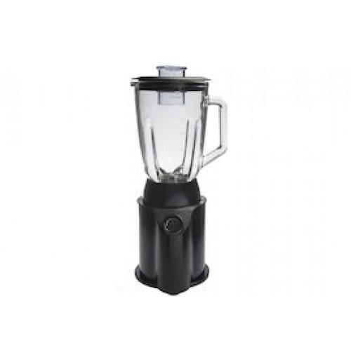 Блендер с чашей на 1,5 л 500 W функция дробления льда, черная сталь