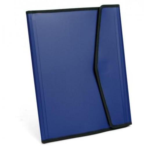 Папка пластиковая, синяя