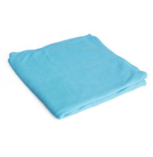 Полотенце дорожное 60х120 см голубое в чехле (ОСТАТОК 1 ШТ), микрофибра