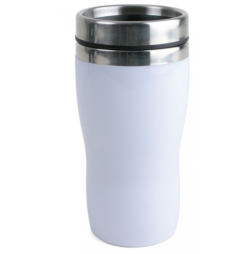 Термостакан 0.25 л  белый, пластик