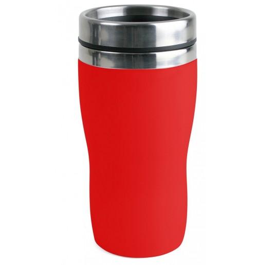 Термостакан 0.25 л красный, пластик