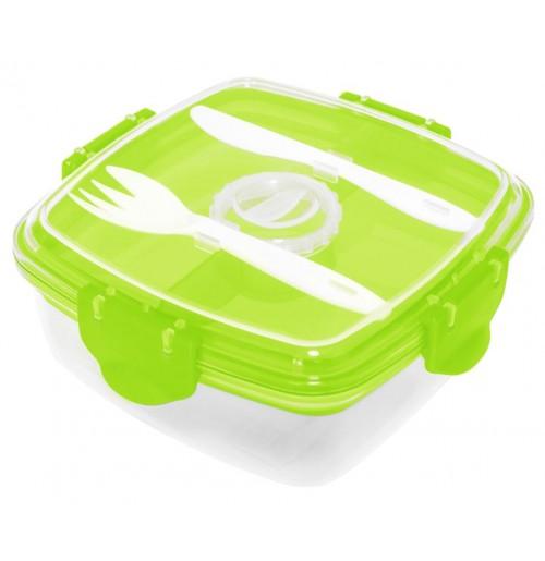 Контейнер пищевой лайм, пластик
