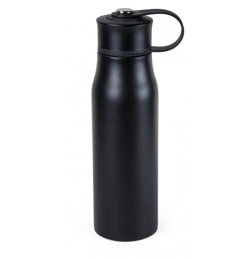 Термос-фляга 0.5 л черный, нержавеющая сталь