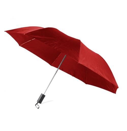 Зонт складной полуавтомат бордовый (ОСТАТОК 1 ШТ), полиэстер