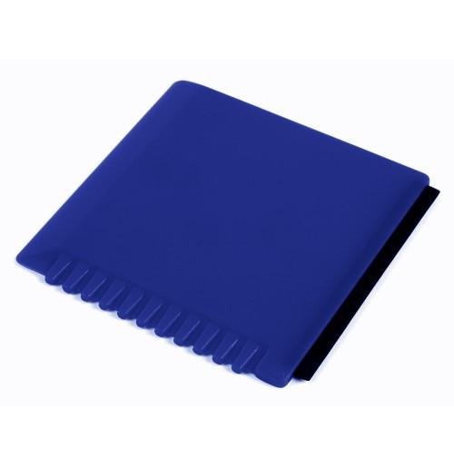 Скребок для очистки стекол синий, пластик