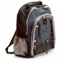Рюкзак черный/синий, полиэстер